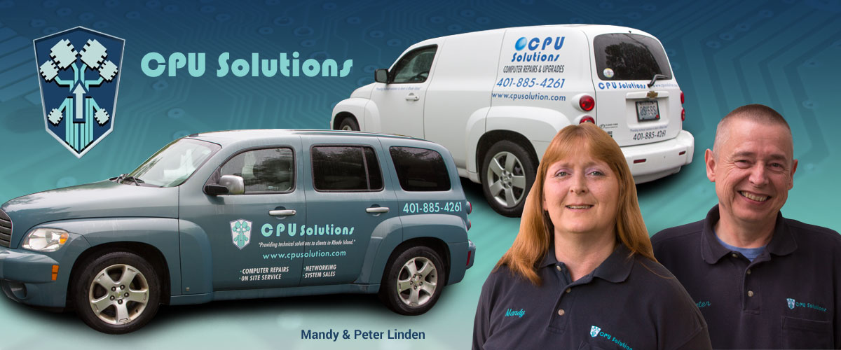 Mandy and Peter Linden, Founders of CPU Solutions